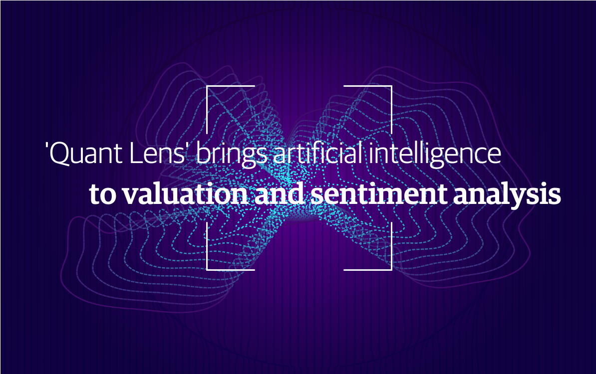 Iridium 'Quant Lens' brings artificial intelligence to valuation and sentiment analysis in listed companies