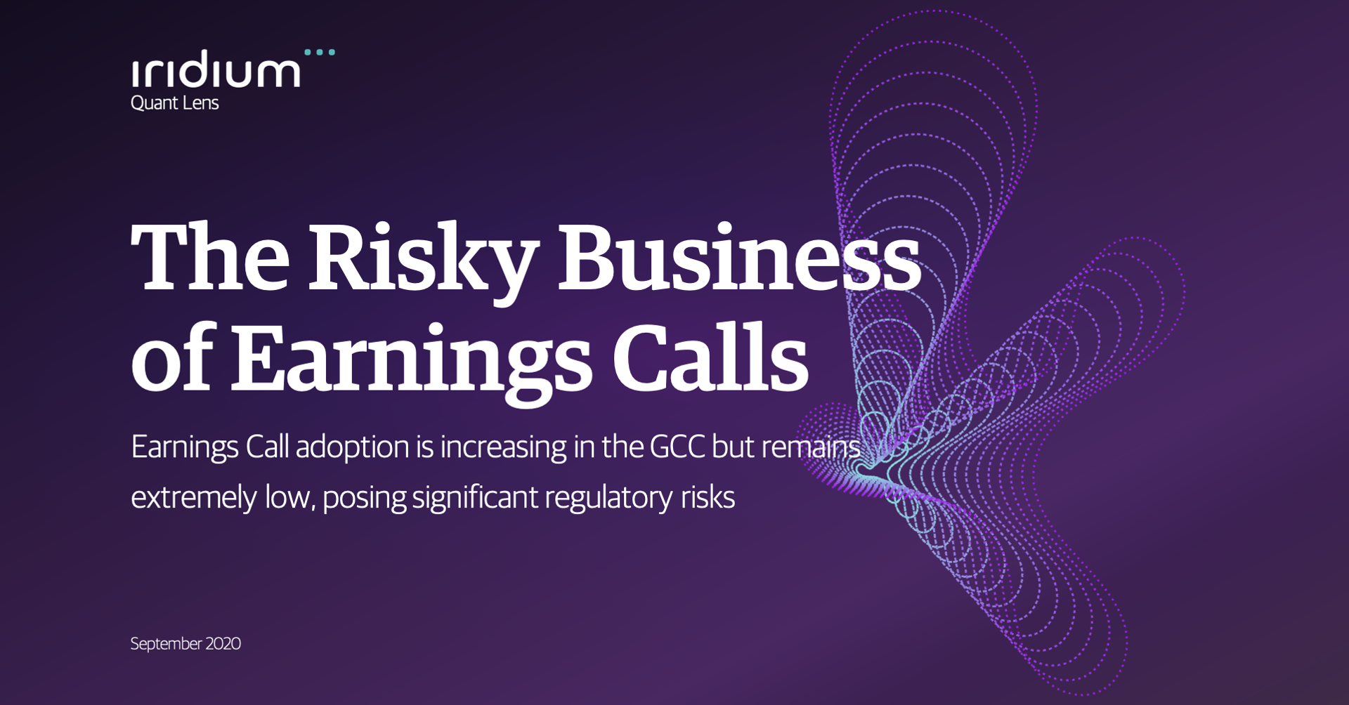 The Risky Business of Earnings Calls